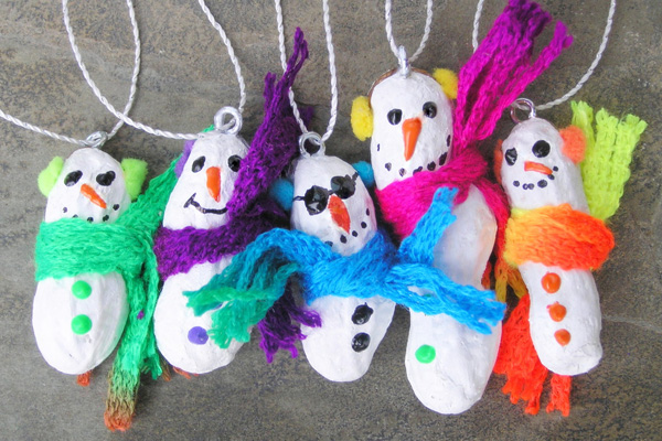 19 homemade christmas ornaments that kids can make parentmap for Home made christmas decorations for kids