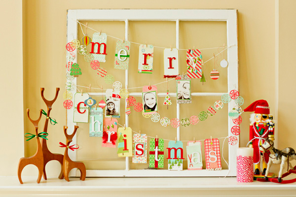 Homemade Christmas decorations by Shimelle