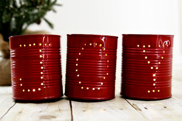homemade christmas luminarias by celebrations - Homemade Decorations