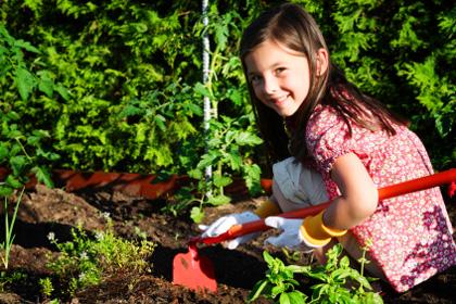 urban farming with kids