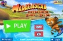 Madagascar Preschool Surf n' Slide Android app