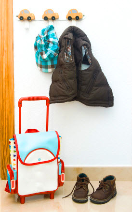 How to get your kids organized and on time in the morning