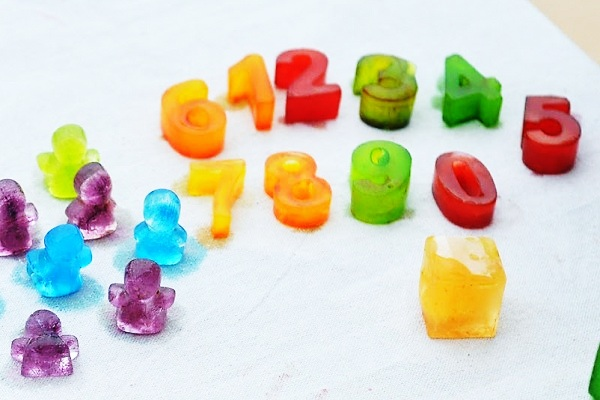 Ice tray numbers