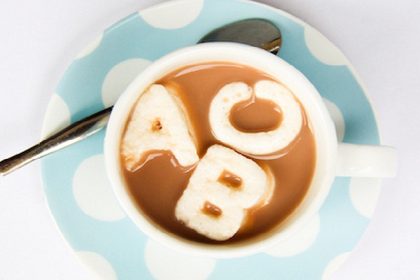 Marshmallow ABC's