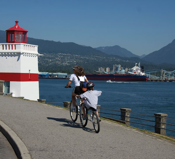 Stanley Park Vancouver family