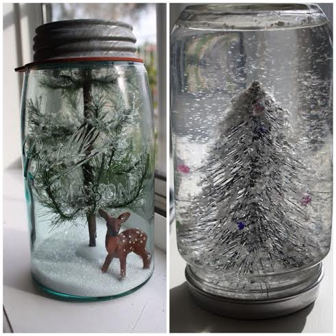 Snow Globe And Terrarium