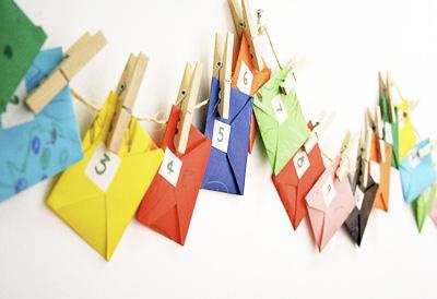 Homemade Christmas Envelope Advent Calendar By Z Design