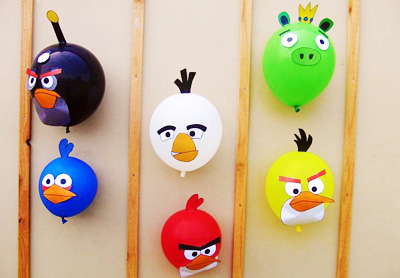 Angry Birds birthday party game by TaLooLa Kids