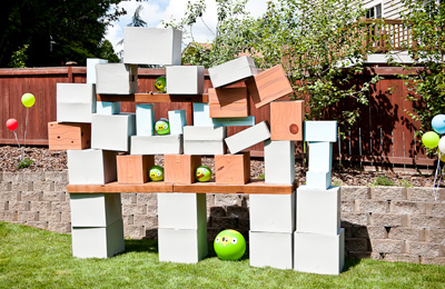 Real life Angry Birds game by Simply Styled Home