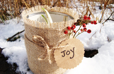 Christmas planted bulbs gift by Maya*Made