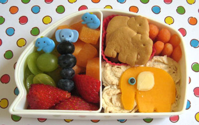 Elephant bento box by Bento Lunch