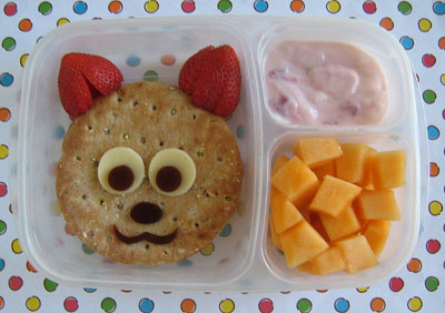 Fox bento box lunch by Bento Lunch