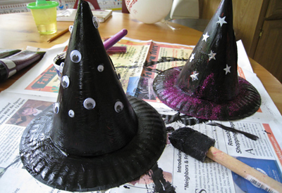 Halloween witches hat by 4 Crazy Kings
