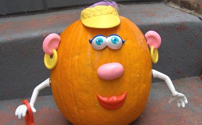 mrs pumpkin head by zakka life