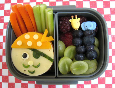 Pirate bento box lunch by Bento Lunch
