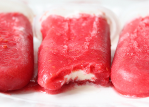 Raspberry creamsicle by Itsy Bitsy Foodies