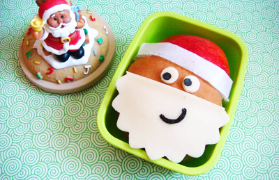 Christmas santa bento box by Cute Food for Kids