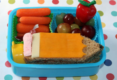 Back-to-school bento box lunch by Bento-logy