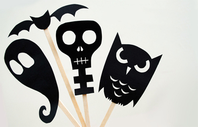 Halloween shadow makers by Mini-Eco