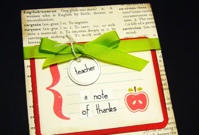 Personalized notepads by Little Birdie Secrets