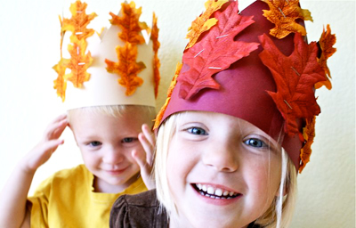 Thanksgiving harvest crowns by MADE