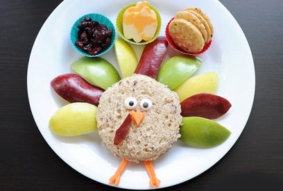 Thanskgiving turkey lunch idea by Meet the Dubiens