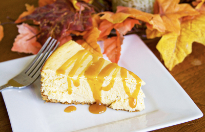 Thanksgiving pumpkin cheesecake by Sugarcrafter