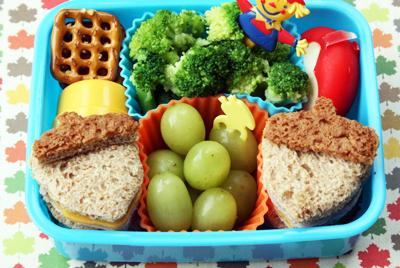 Thanksgiving harvest lunch idea by Bento-logy