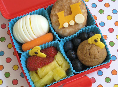 Train bento box lunch by Bento Lunch