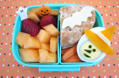 Halloween witch bento box lunch by Bento Lunch