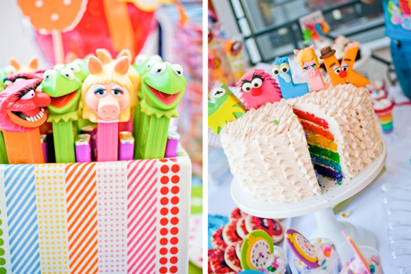 Kids' Muppets birthday party by Kara's Party Ideas