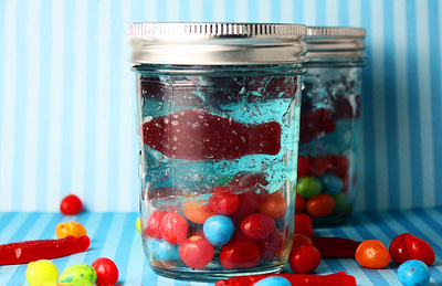 Homade Jello aquarium by Confessions of a Cookbook Queen