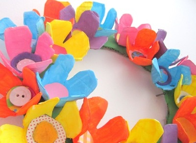 Easter DIY Spring Wreath by Krafty Kat
