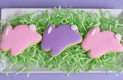 Easter sugar cookies by Glorious Treats
