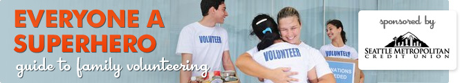 Everyone a Superhero - Guide to Family Volunteering