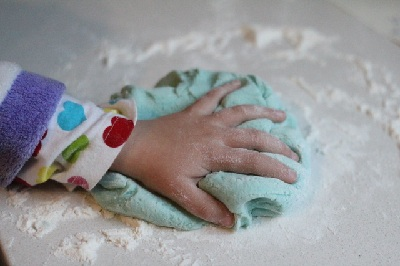 Father's Day Homemade Playdough by Little Eco Footprints