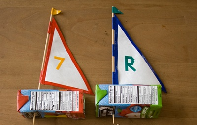 Father's Day Juice Box Boats by Inchmark