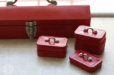 Father's Day Mini Toolboxes by Alpha Mom