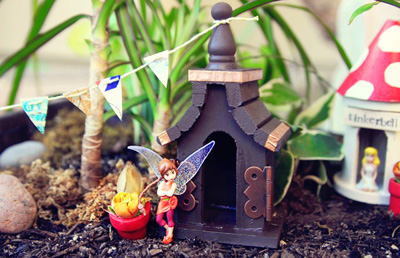 Fairy garden for kids by Lil Blue Boo