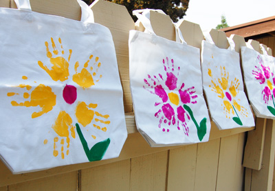 Homemade Tote Bags By Paint Cut Paste Goody