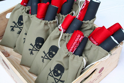 "Pirate ""loot"" birthday goody bags by Honeyflake"