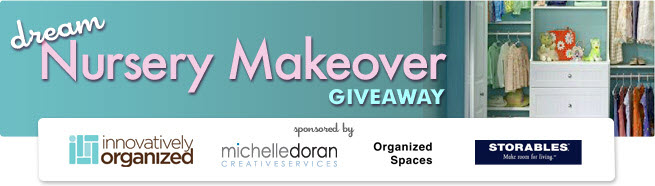 Enter the Dream Nursery Makeover Giveaway