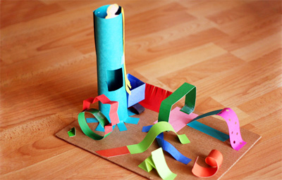 3D sculptures for kids by Let's Explore on Make and Takes