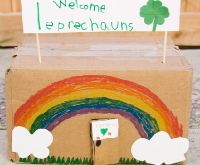 St. Patrick's Day DIY Leprechaun Trap by Inchmark