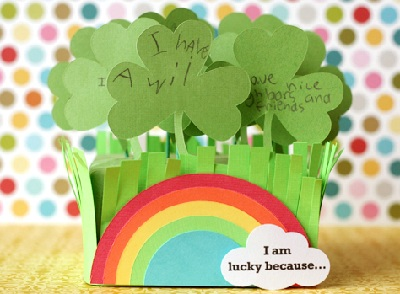 St. Patrick's Day DIY Shamrock Patch by Lisa Storms