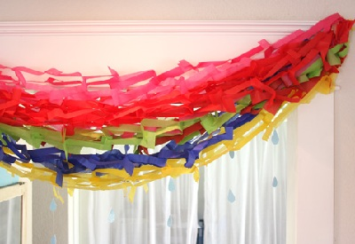 St. Patrick's Day DIY Rainbow Garland by GiversLog