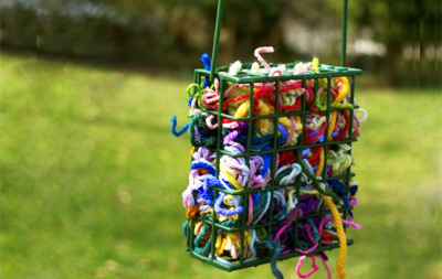 Yarn for backyard birds by Juniper Moon Farm