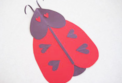 Valentine's Day love bug cards by Make and Takes