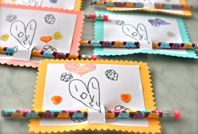 20 Homemade Valentine Ideas for Kids – Easy Valentine Cards for Kids