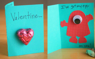 Easy Homemade Valentines Day Cards – Valentine Cards Ideas for Preschoolers